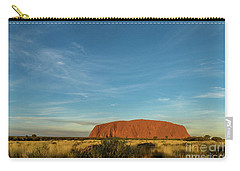 Carry-all Pouch featuring the photograph Uluru Sunset 01 by Werner Padarin