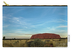 Carry-all Pouch featuring the photograph Uluru Sunset 02 by Werner Padarin