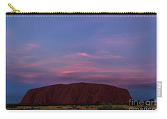Carry-all Pouch featuring the photograph Uluru Sunset 04 by Werner Padarin