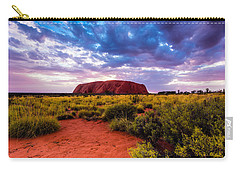 Carry-all Pouch featuring the photograph Uluru by Ulrich Schade
