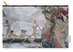 Ulysses And The Sirens Carry-all Pouch by Otto Greiner