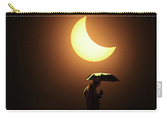Umbrella Man Eclipse Carry-all Pouch