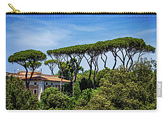 Umbrella Trees In Rome Carry-all Pouch