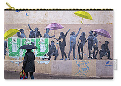 Umbrellas In Paris Carry-all Pouch