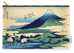 Umegawa In Sagami Province, One Of Thirty Six Views Of Mount Fuji Carry-all Pouch by Hokusai
