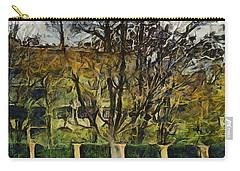 Un Cheteau Dans Le Paradis - One Of Two  Carry-all Pouch by Sir Josef - Social Critic -  Maha Art