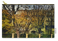 Un Cheteau Dans Le Paradis - Two Of Two  Carry-all Pouch by Sir Josef - Social Critic -  Maha Art