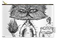 Unbalance Cat Carry-all Pouch