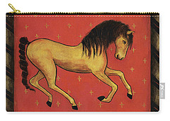 Unbridled ... From The Tapestry Series Carry-all Pouch