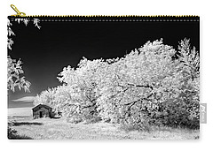 Carry-all Pouch featuring the photograph Under A Dark Sky by Dan Jurak