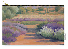 Under A Summer Sun In Lavender Fields Carry-all Pouch