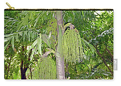 Carry-all Pouch featuring the photograph Under A Tropical Tree by Francesca Mackenney