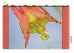 Under A Wild Columbine Carry-all Pouch by Barbara Bowen