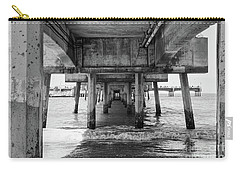 Under Belmont Veterans Memorial Pier Carry-all Pouch by Ana V Ramirez