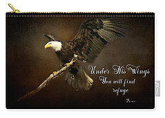 Under His Wings Carry-all Pouch