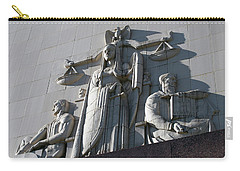 Under Scales Of Justice Carry-all Pouch