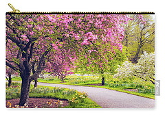 Under The Apple Tree Carry-all Pouch by Jessica Jenney