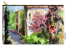 Under The Archway Carry-all Pouch by Rae Andrews