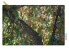 Under The Berry Tree Carry-all Pouch by Catherine Gagne
