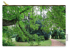 Carry-all Pouch featuring the photograph Under The Branches Of A Large Tree by Michal Boubin