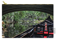 Under The Bridge Carry-all Pouch by Judy Vincent