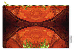 Under The Bridge Carry-all Pouch by Scott McAllister