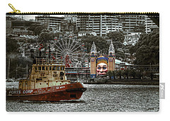 Under The Bridge Carry-all Pouch by Wayne Sherriff