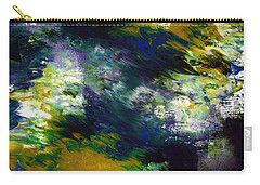 Under The Canopy 2- Abstract Art By Linda Woods Carry-all Pouch