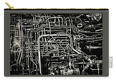 Carry-all Pouch featuring the photograph Under The Hood by Jeffrey Jensen