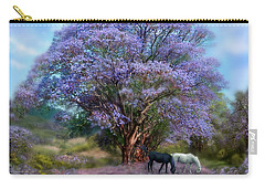Under The Jacaranda Carry-all Pouch