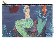 Under The Merlight Sea Carry-all Pouch