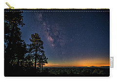Carry-all Pouch featuring the photograph Under The Milky Way  by Saija Lehtonen
