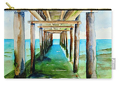 Under The Playa Paraiso Pier Carry-all Pouch