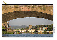 Under The Ponte Santa Trinita Carry-all Pouch