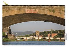 Under The Ponte Santa Trinita Carry-all Pouch