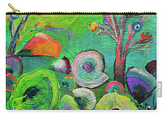 under the sea  - Orig painting for sale Carry-all Pouch