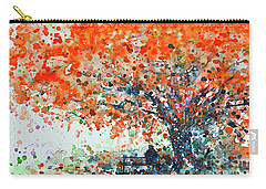 Flamboyant Tree Carry-All Pouches
