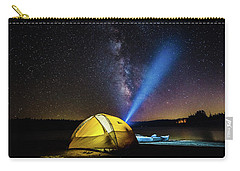 Under The Stars Carry-all Pouch by Alpha Wanderlust