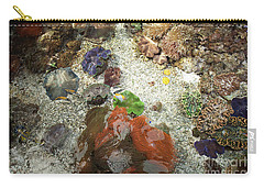Carry-all Pouch featuring the photograph Under Water Life by Carol Lynn Coronios