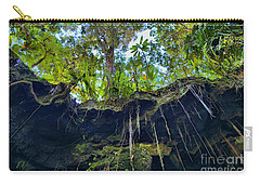 Carry-all Pouch featuring the photograph Underground by DJ Florek
