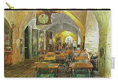 Underneath The Arches - Street Cafe, Prague Carry-all Pouch