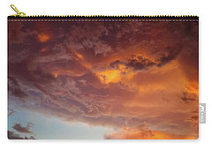 Carry-all Pouch featuring the photograph Underneath The Storm by Ken Stanback