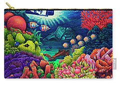 Undersea Creatures Vii Carry-all Pouch