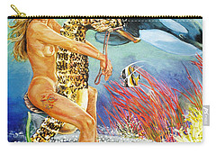 Undersea Fantasy Carry-all Pouch by Bryan Bustard