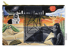 Carry-all Pouch featuring the painting Understanding Time by Ryan Demaree