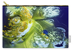 Underwater Flower Abstraction 2 Carry-all Pouch by Lorella Schoales