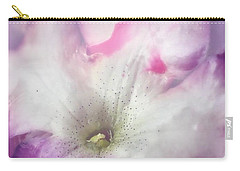 Underwater Flower Abstraction 9 Carry-all Pouch by Lorella Schoales