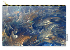 Carry-all Pouch featuring the digital art Underwater by Giada Rossi