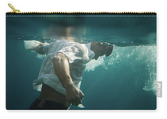 Underwater Man Carry-all Pouch