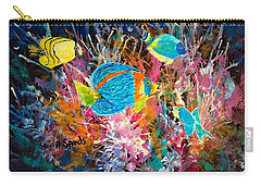 Underwater Sea Life Carry-all Pouch